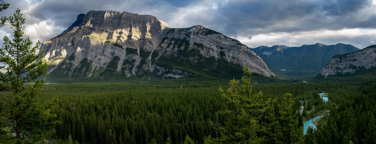 Banff National Park Sunset