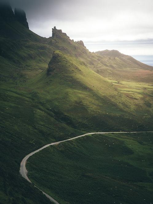 The Quiraing Road