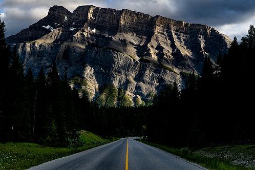 Road to Banff - Horizontal