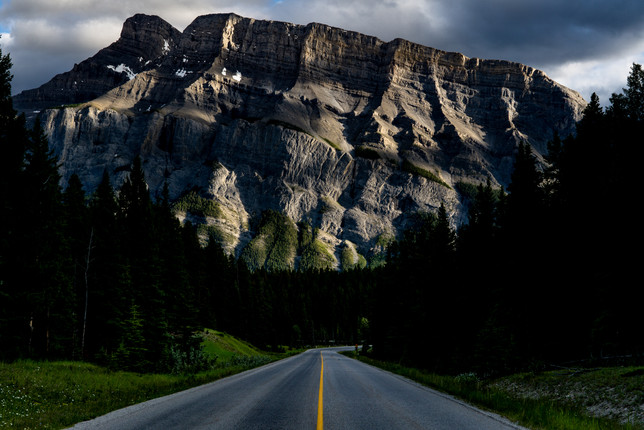 Banff National Park Road 1