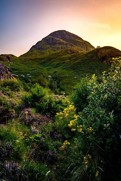 Highlands Sunset - Scotland