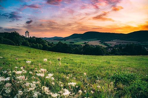 Burg Lictenberg Sunset
