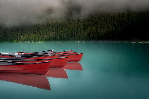 Lake Louise Canoes (Dark)