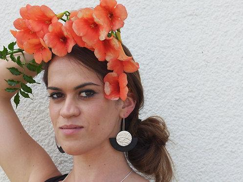 Orecchini in Piñatex #19 - Beatriz Constán