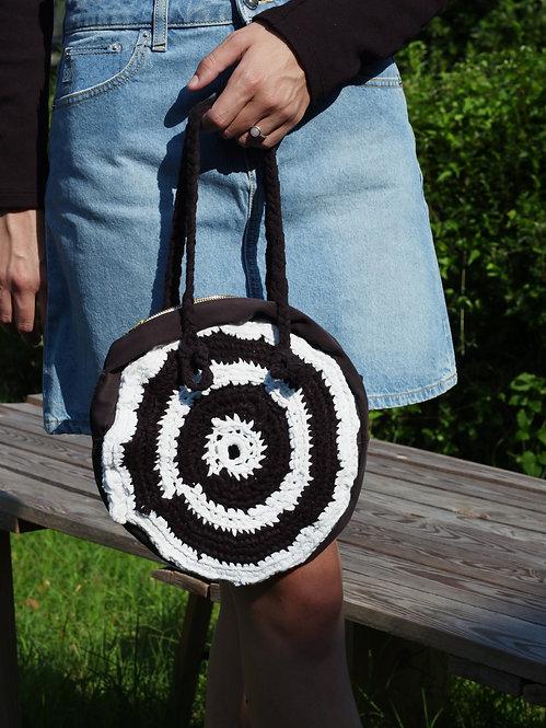 Cri Bag Tonda - Bianco e Nero