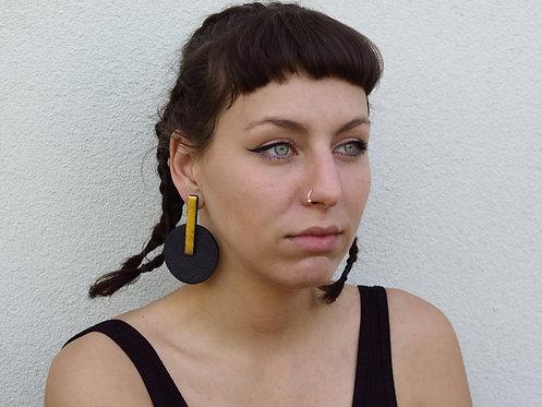 Orecchini in Piñatex #20 - Beatriz Constán