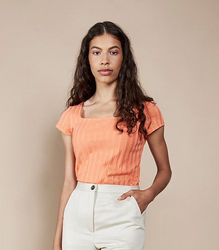 T-Shirt Cotone Organico Papaya - Jan'n June