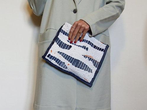 Weave Bag - Bianco/Denim