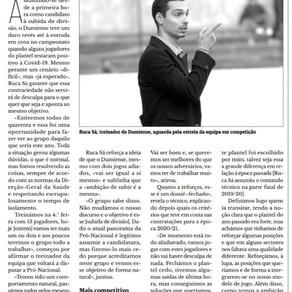 Entrevista ao Mister Ruca Sá