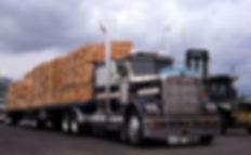 Canadian-B-Train-carrying-Lumber-Big-Tru
