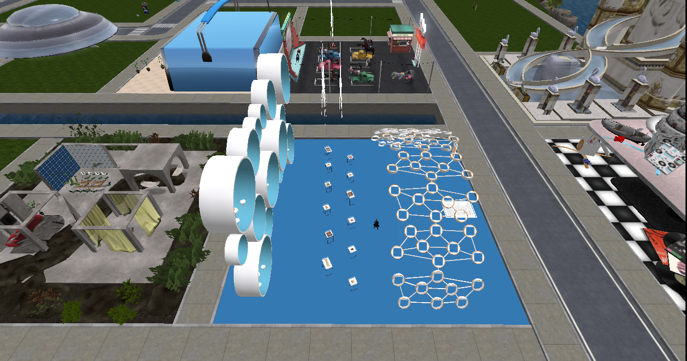 Second Life 16th Birthday Build