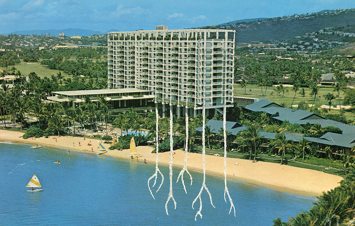 Carved Postcard . Hotels