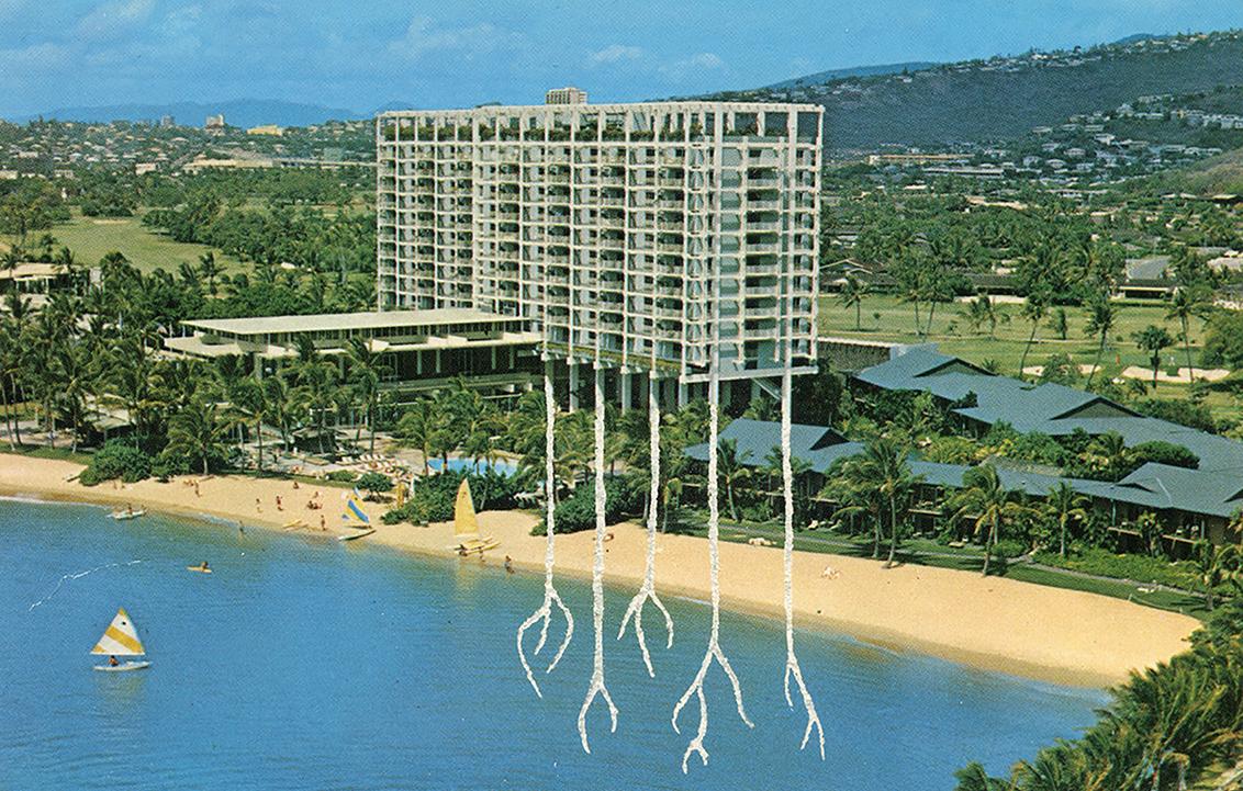 Carved Postcard . Hotels