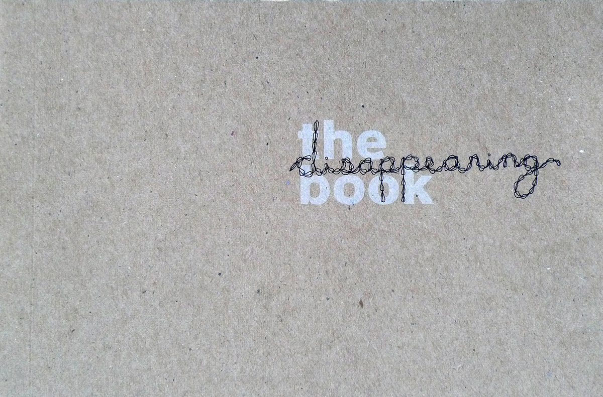 The Disappearing Book