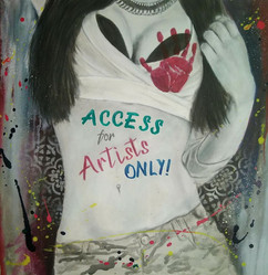 access for artists only