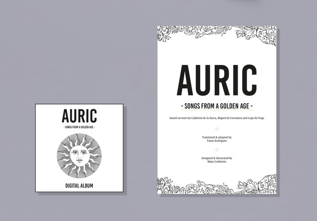 AURIC THE VIRTUAL EXPERIENCE including AURIC THE BOOK (PDF) & AURIC THE ALBUM (DIGITAL) £25