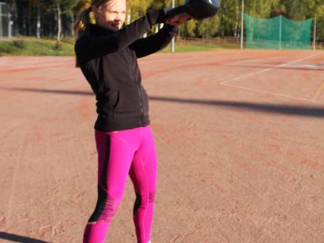 Kahvakuulalla monipuolisia ja tehokkaita treenejä