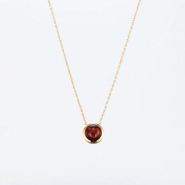 "Amulet ""Brownish Red"" Pendant"