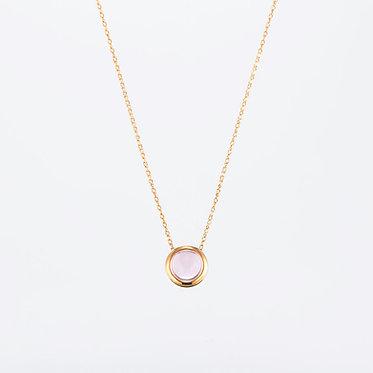 "Amulet ""Rose pink"" Pendant"