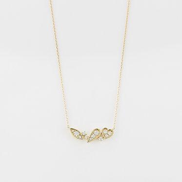 Fancy Shape Mix Necklace