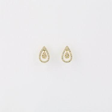 Pear Shape Twinkle Pierce