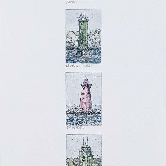 Dublin Bay Lighthouses