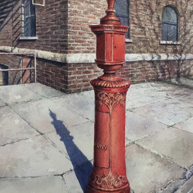 Fire Alarm Call Box, Brooklyn