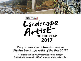 Sky Arts Landscape Artist of the Year 2017