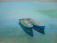 Roundstone Reflections, Ann O'Clery .JPG