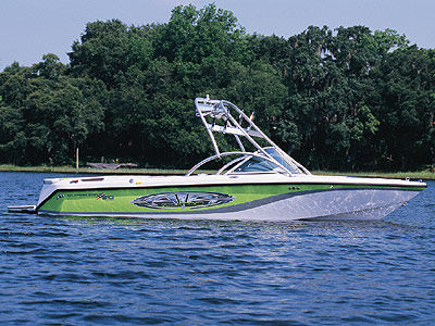CORRECT CRAFT SUPER AIR NAUTIQUE G21 W FLIGHT CONTROL TOWER