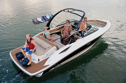 SEA RAY 205 SPORT W FORWARD FACING WATERSPORTS TOWER