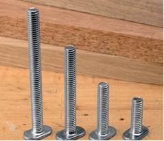 T bolt to use on versatrack rail