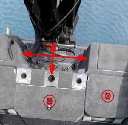 motor cutout area - closeup