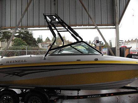 REINELL  BEACHCRAFT 191 LSE IO W SAMSON SPORTS TOWER