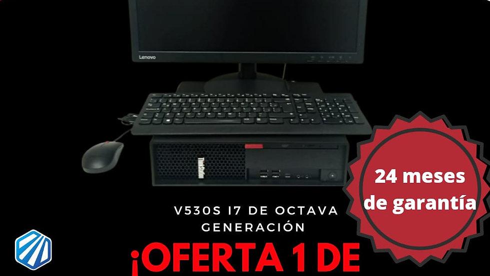 Computador completo Lenovo V530 S CORE I7 8700 Windows 10