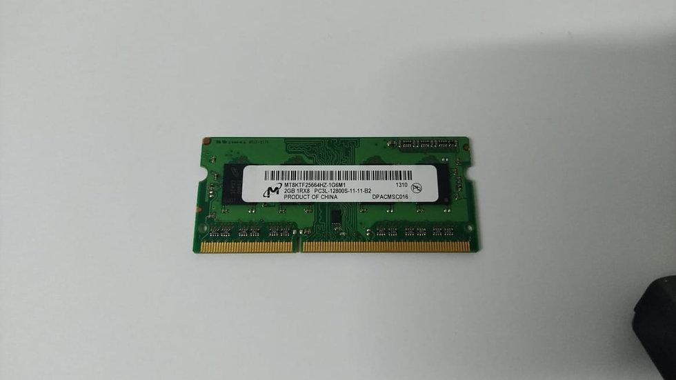Memoria ram 2 GB /PC3L 12800 y 10600