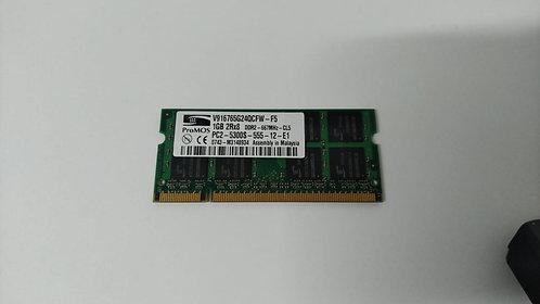 Memoria ram 1 GB /PC2