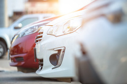 Cars-Parked-In-Parking-Lot-Close-Up-Cars-for-Sale