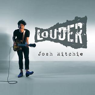 Josh Ritchie - LOUDER - Album Cover 3000