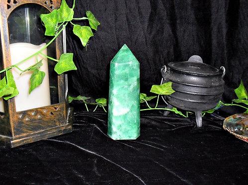 Green Fluorite Tower Obelisk