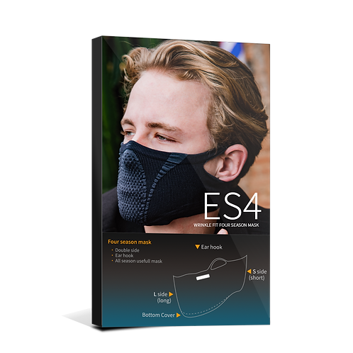 ES4 wrinkle fit four season mask