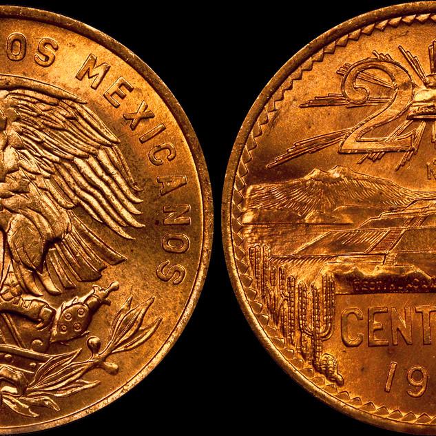 Sneeze Mexico 50 Centavos Gardenstatecoi