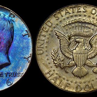 1966 Kennedy Half Dollar Business Strike