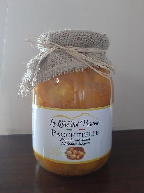 Pacchetelle di Pomodorino (Kirschtomate) del Piennolo del Vesuvio D.O.P. gelb