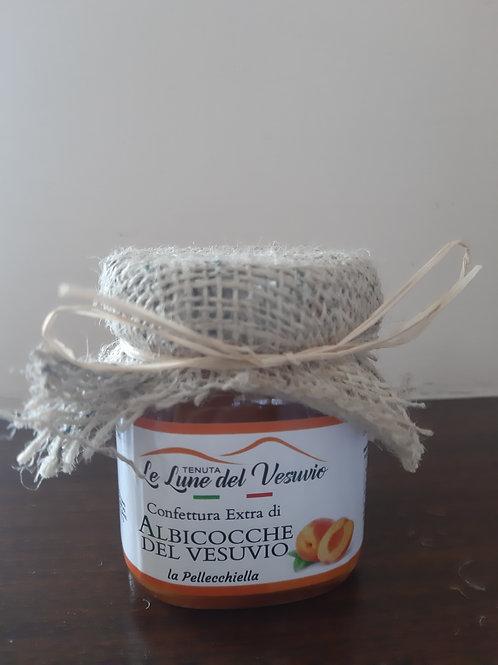 """Confiture extra di albicocce del Vesuvio """"pellecchiella"""""""