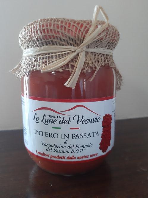 Intero in Passata di Pomodorino del Piennolo D.O.P.