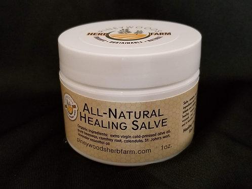 All-Natural Healing Salve - 1 ounce jar