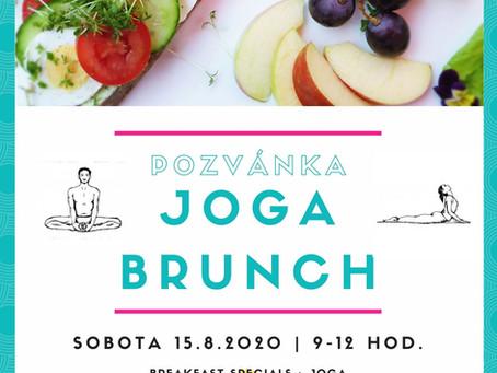 Pozvánka na jóga brunch