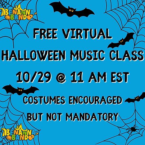 10/29 Free Virtual Halloween Concert