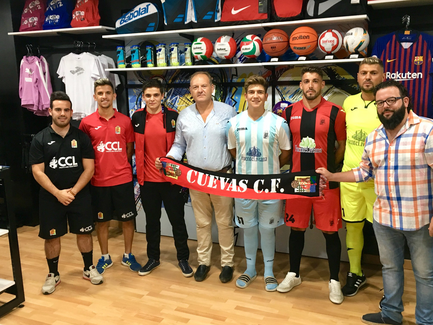 Cuevas Football Club Sponsorship
